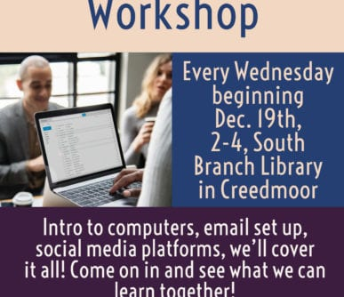 Computer Workshop South Branch