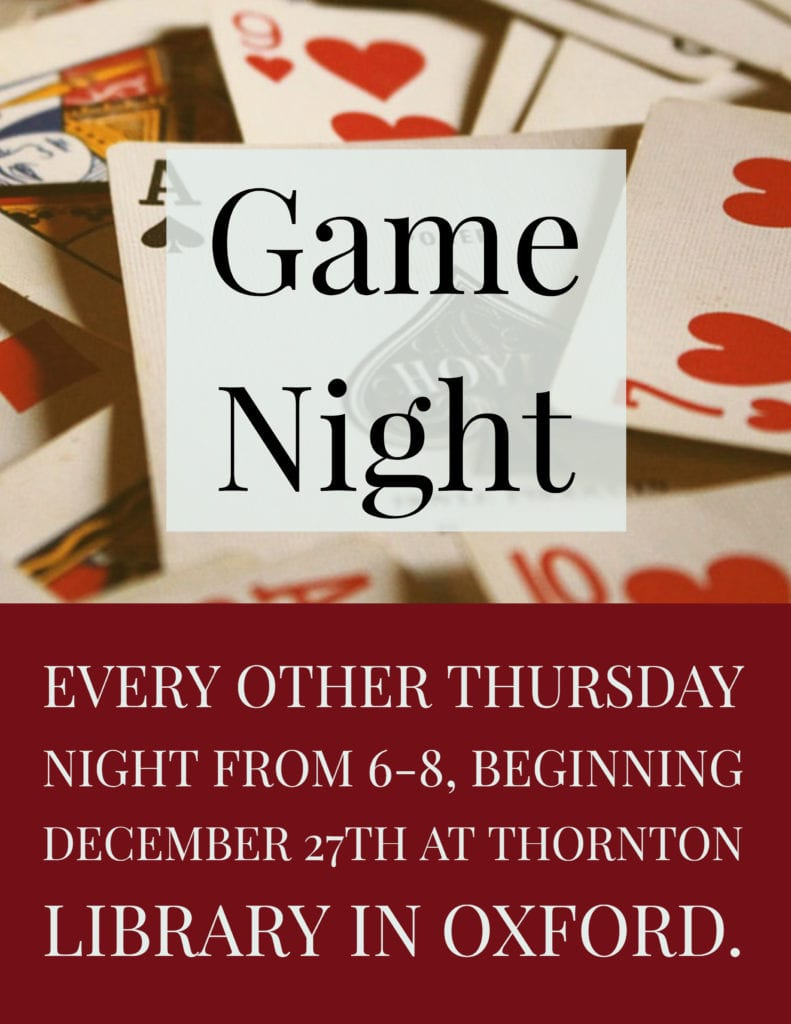 Game Night @ Richard H. Thornton Library