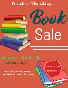 Book Sale @ Thornton Library