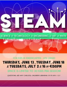 STEAM @ Thornton Library
