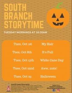 Storytime-South Branch Library @ South Branch Library