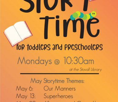 Stovall Storytime May