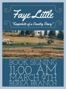 Faye Little Book Signing @ Berea Branch Library