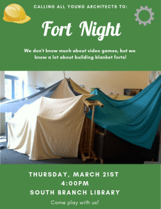 Fort Night @ South Branch Library