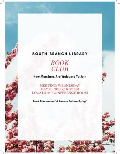 South Branch Book Club @ South Branch Library