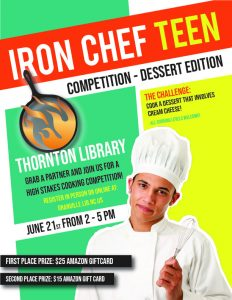 Iron Chef Teen @ Thornton Library