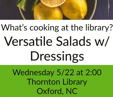 What's Cooking Salads