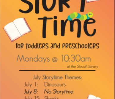 Stovall Storytime July 2019