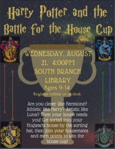 Harry Potter @ South Branch Library