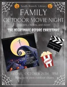 Family Movie Night @ South Branch Library