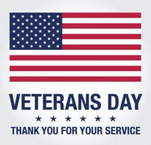 Library Closed-Veteran's Day Observance
