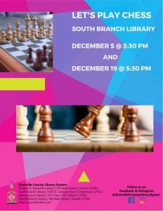 Chess Club @ South Branch Library
