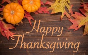Library Closed-Thanksgiving