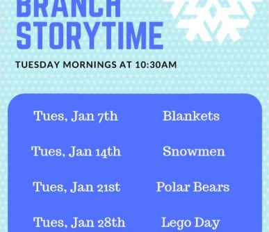 South Storytime Jan 2020