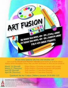 Art Fusion @ Stovall Library