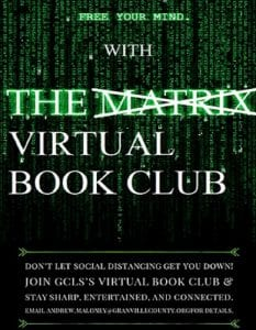 Virtual Book Club @ Zoom