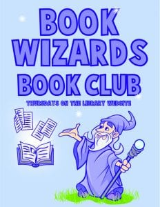 Book Wizard Book Club @ GCLS Facebook Page