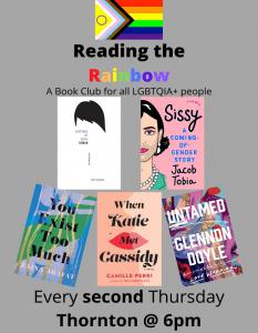 Reading the Rainbow-Book Club @ Richard H. Thornton Library