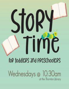 Virtual Storytime @ Richard H. Thornton Library